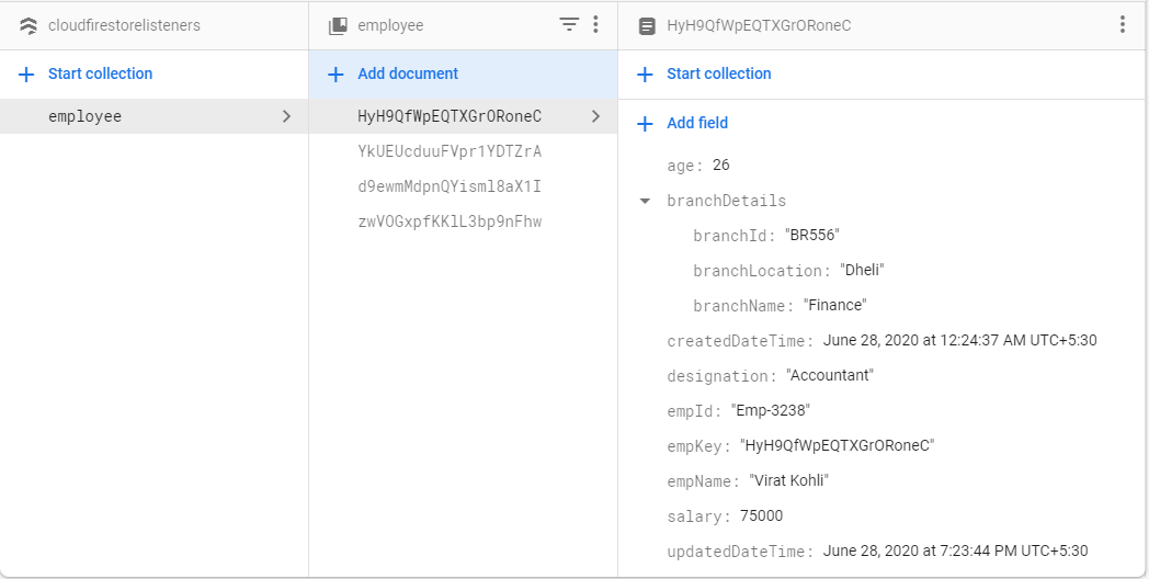 Firebase Cloud Firestore Database Read-Write Best Practices -Android