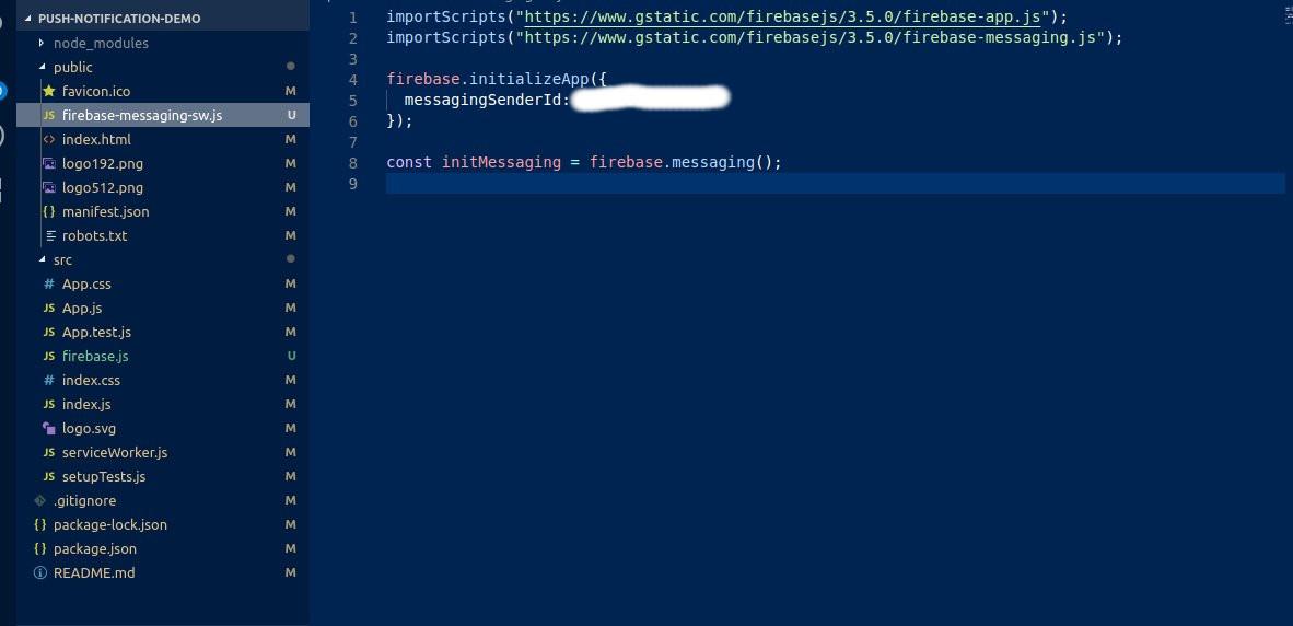 Web Push Notification In Reactjs With Firebase