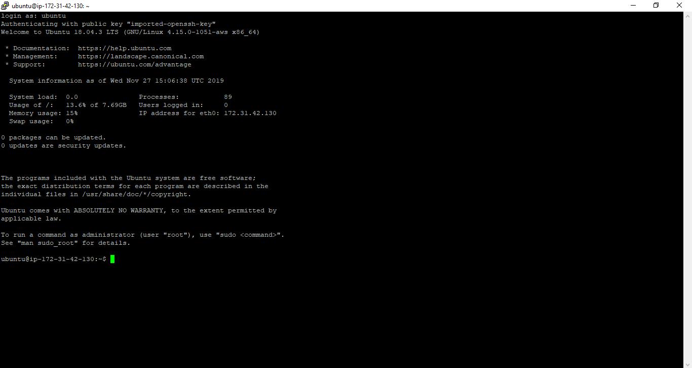 Connect To AWS EC2 Ubuntu GUI Using PUTTY